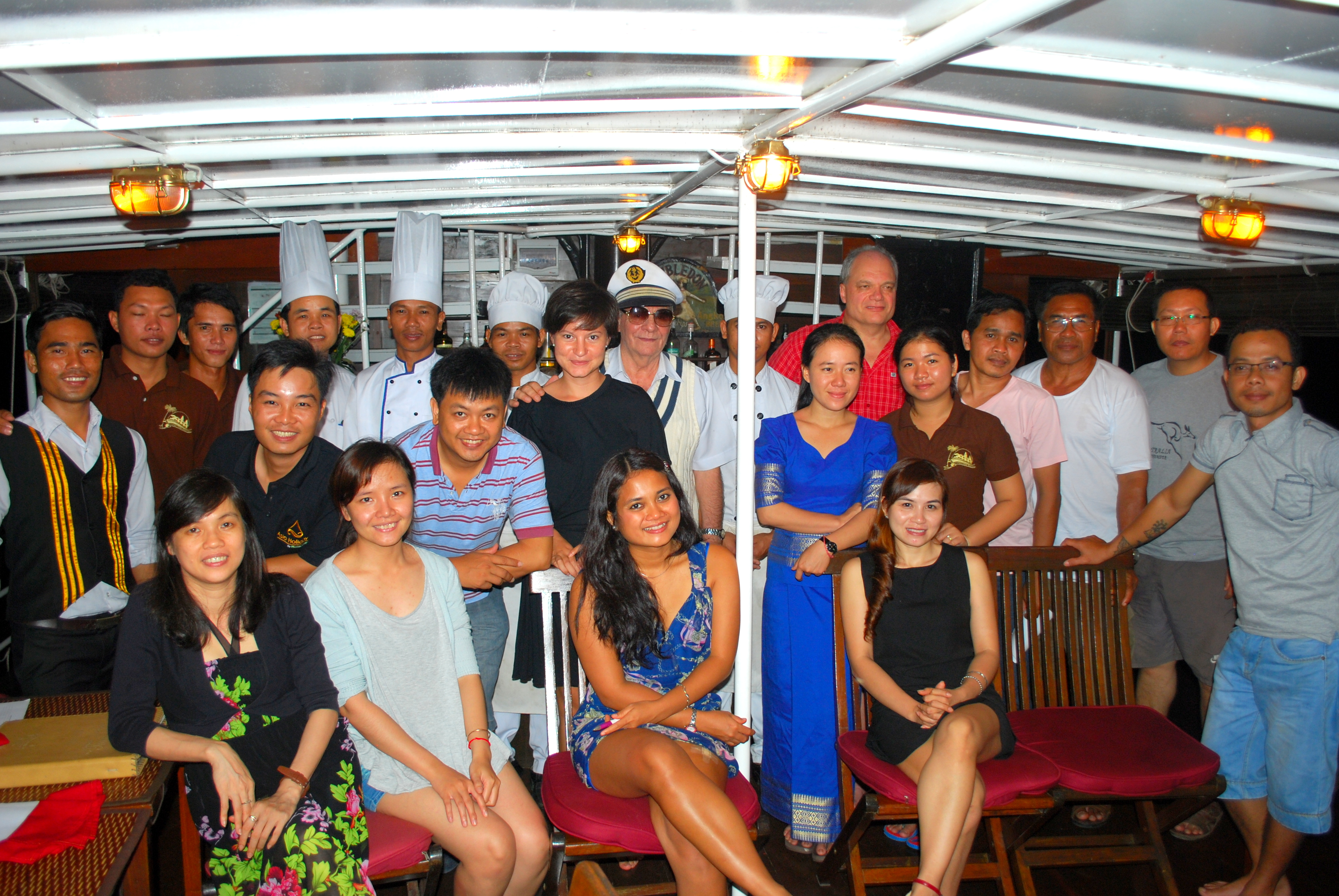 Agents and Operators awed by Toum Tiou